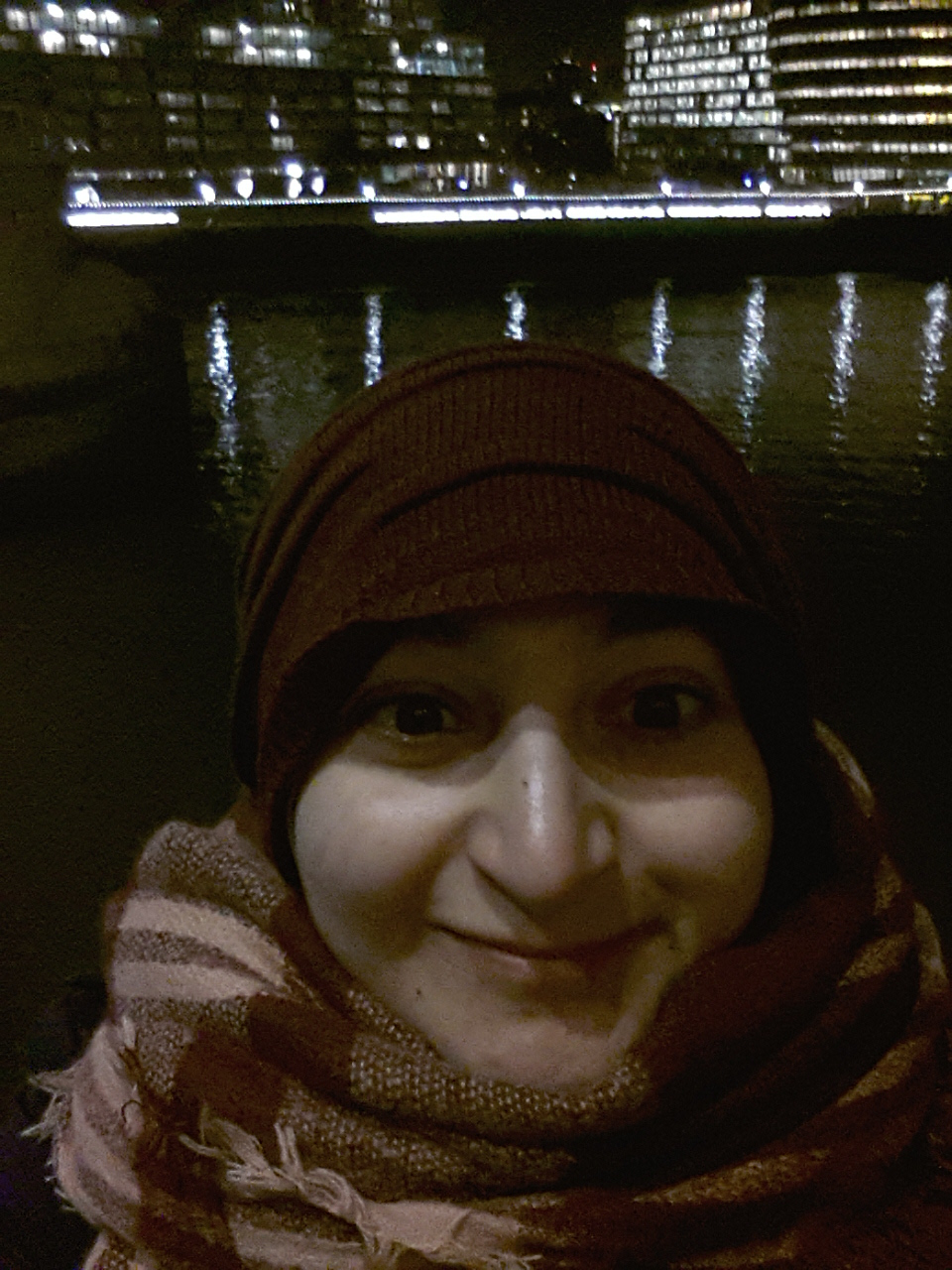 Nancy at Tower Bridge London